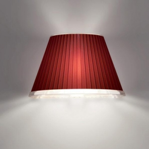 Artemide - Choose parete - 1x42W E14 - 220V-240V - IP23 - Rood - 1142040A