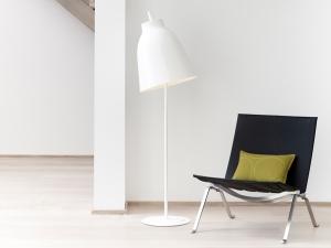 Caravaggio floor lamp white 4