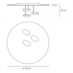 artemide-droplet-soffitto-deckenleuchte