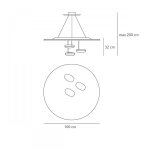artemide-lovegrove-droplet-sospensione-masse