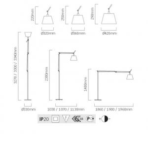 artemide tolomeo mega terra dimensions-475x470